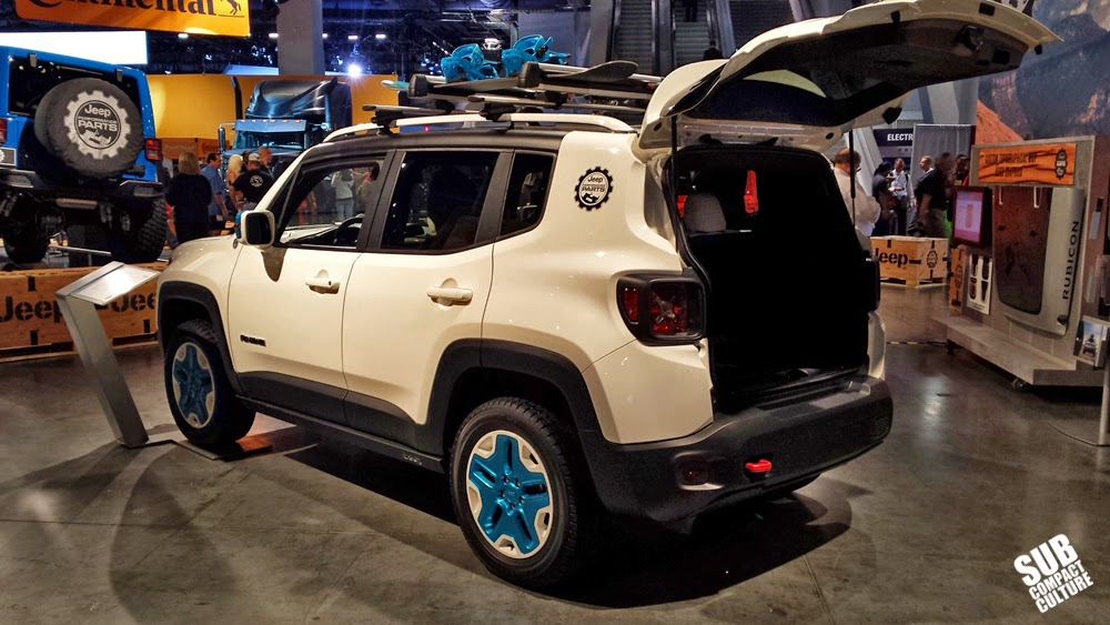 "Mopar Jeep Renegade (white and blue) ""Frostbite"""