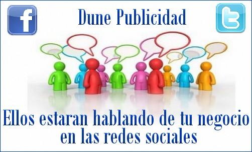 Dune Publicidad - especialistas en Redes Sociales