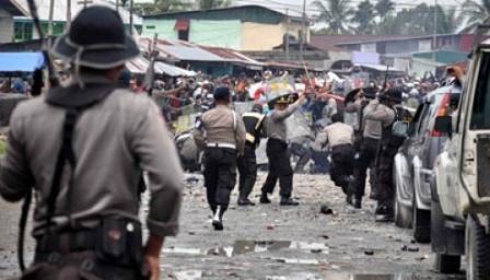 konflik papua