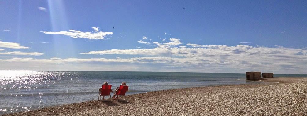 Descanso y playas en la zona costera de Alcanar