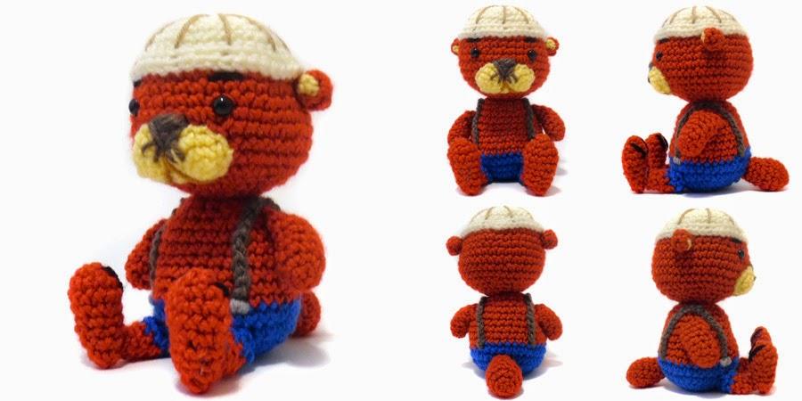Free Amigurumi Otter Pattern : i crochet things: Free Pattern Friday: Pascal the Otter ...