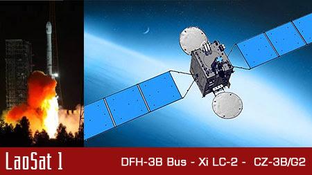 Peluncuran Satelit LaoSat 1 terbaru di Asia Tenggara