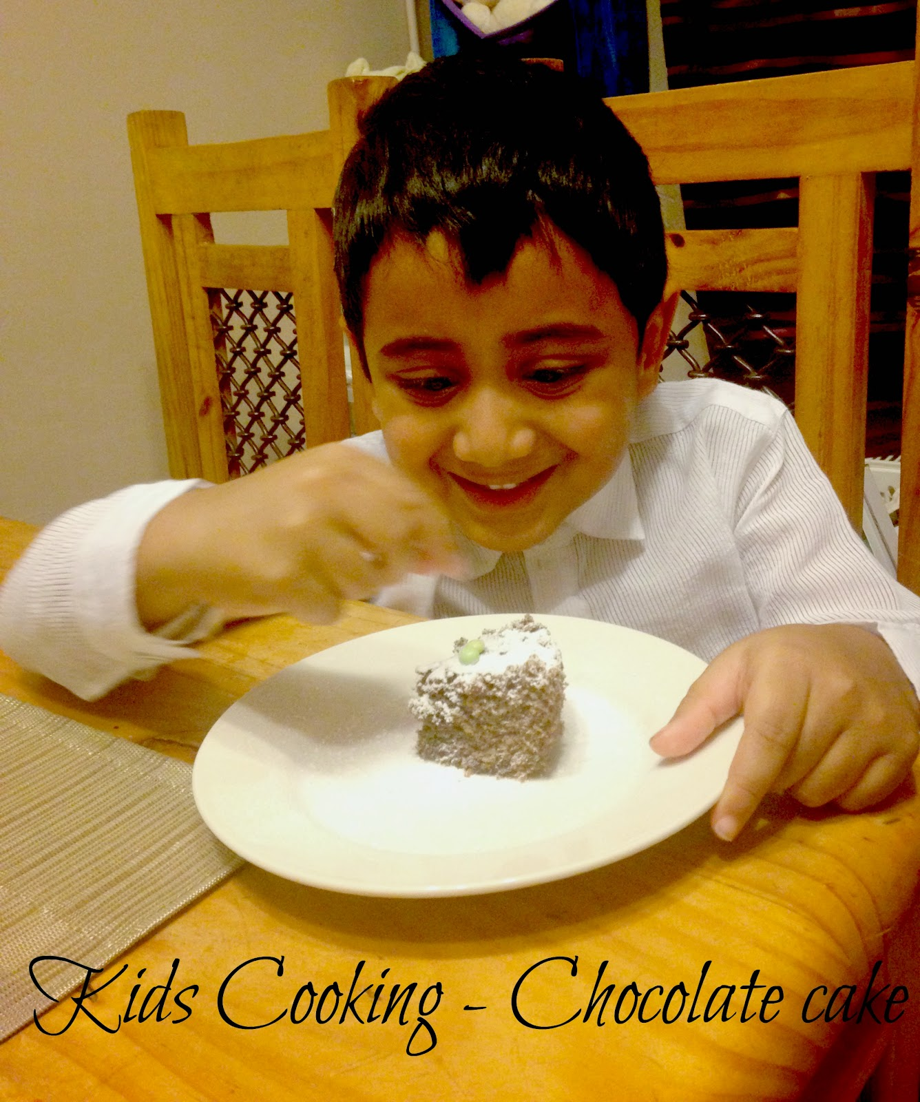 7 minute Microwave Chocolate Eggless Butterless Bachelor Cake  kids cooking | Kukskitchen