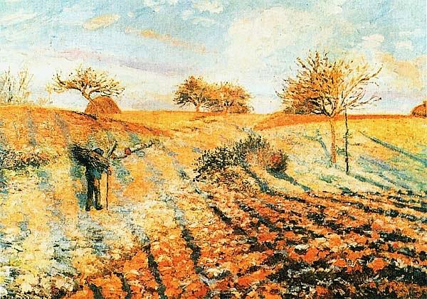 Камиль Писсарро. Иней. 1873.