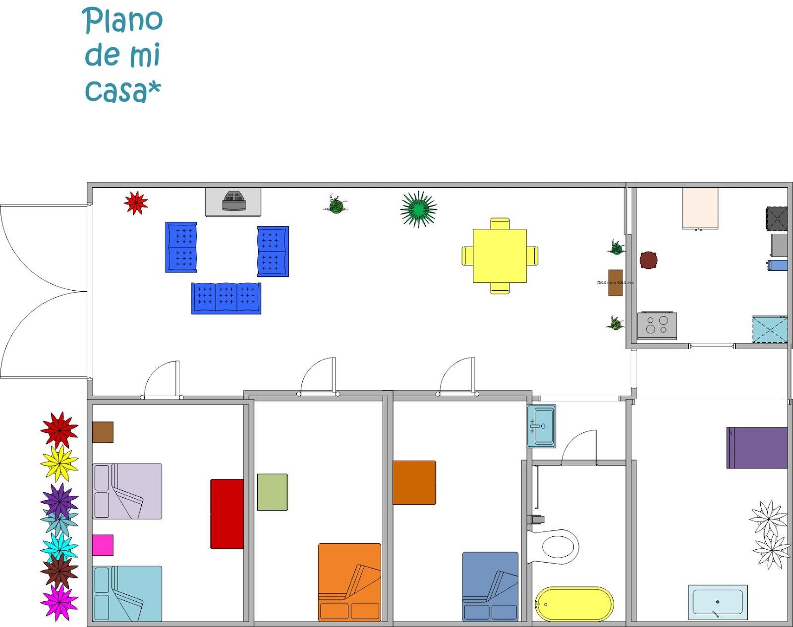 plano de mi casa dise os arquitect nicos On planos para mi casa