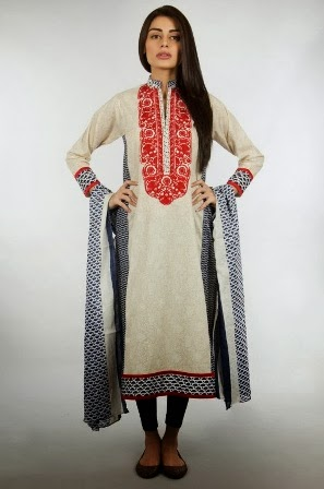 Latest Khaadi Designs 2014-15