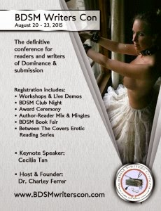 BDSM WRITERS CON 2015