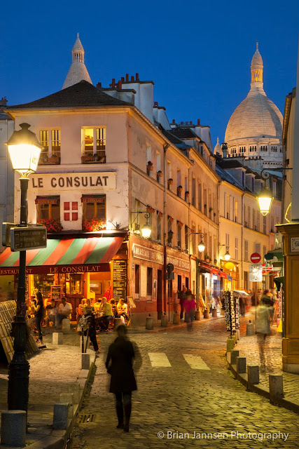 One of Paris' most picturesque neighborhoods can be explored via rue Norvins.