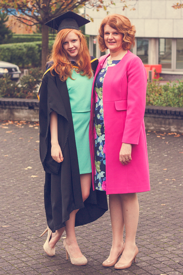University Graduate with Mum