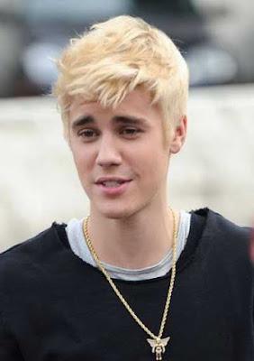 gaya potongan rambut blonde pendek justin bieber_62548