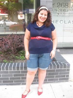 Fashion tips for overweight women 26