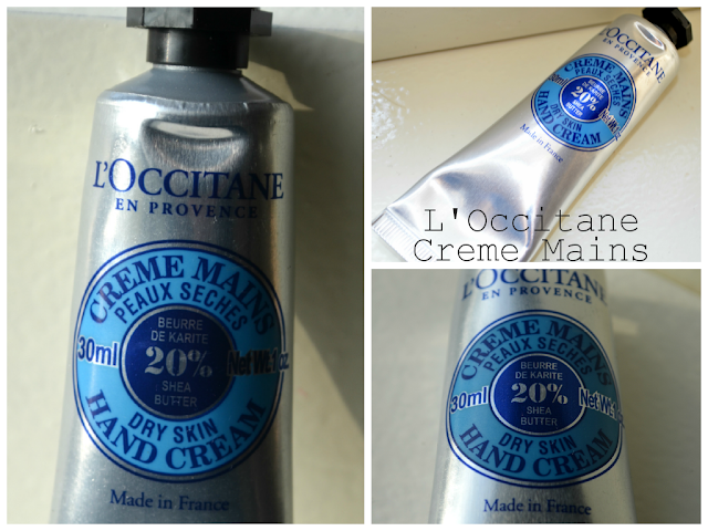 L'Occitane - Creme Mains - Shea butter - hand cream - review - swatch