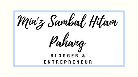 Min'z Sambal Hitam Pahang