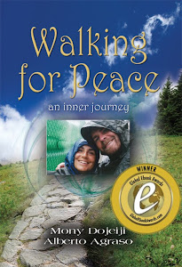 "Our award-winning book ""Walking for Peace, an inner journey"""