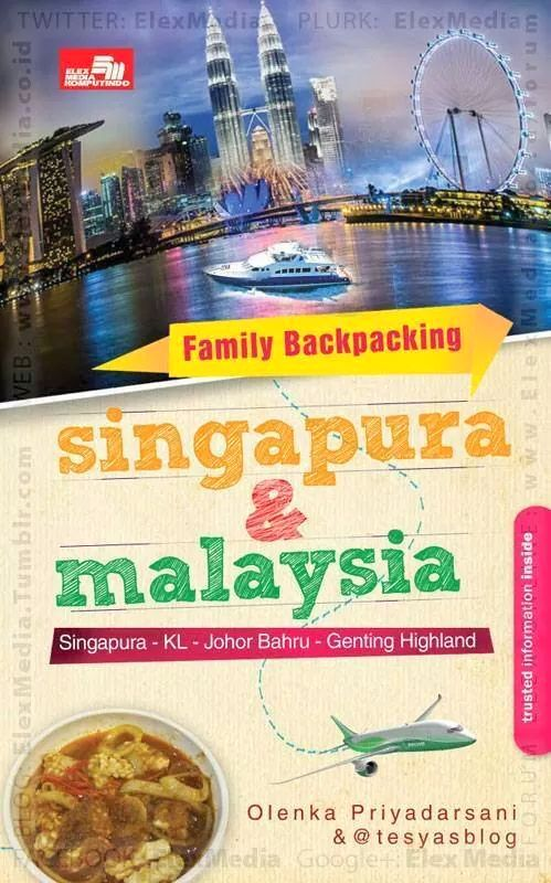 Family Backpacking Singapura & Malaysia
