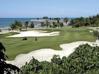 The golf course in Brunei Empire Hotel
