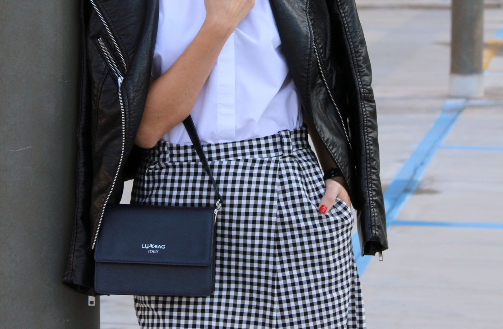Eniwhere Fashion - Checked culottes