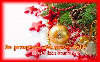 Frases De Feliz Año Nuevo: Un Próspero Año Nuevo 2014 Dios Los Bendiga