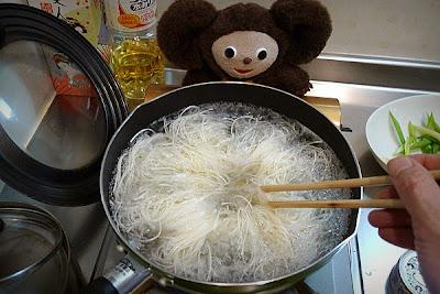 ソーミンチャンプルーの作り方(1)
