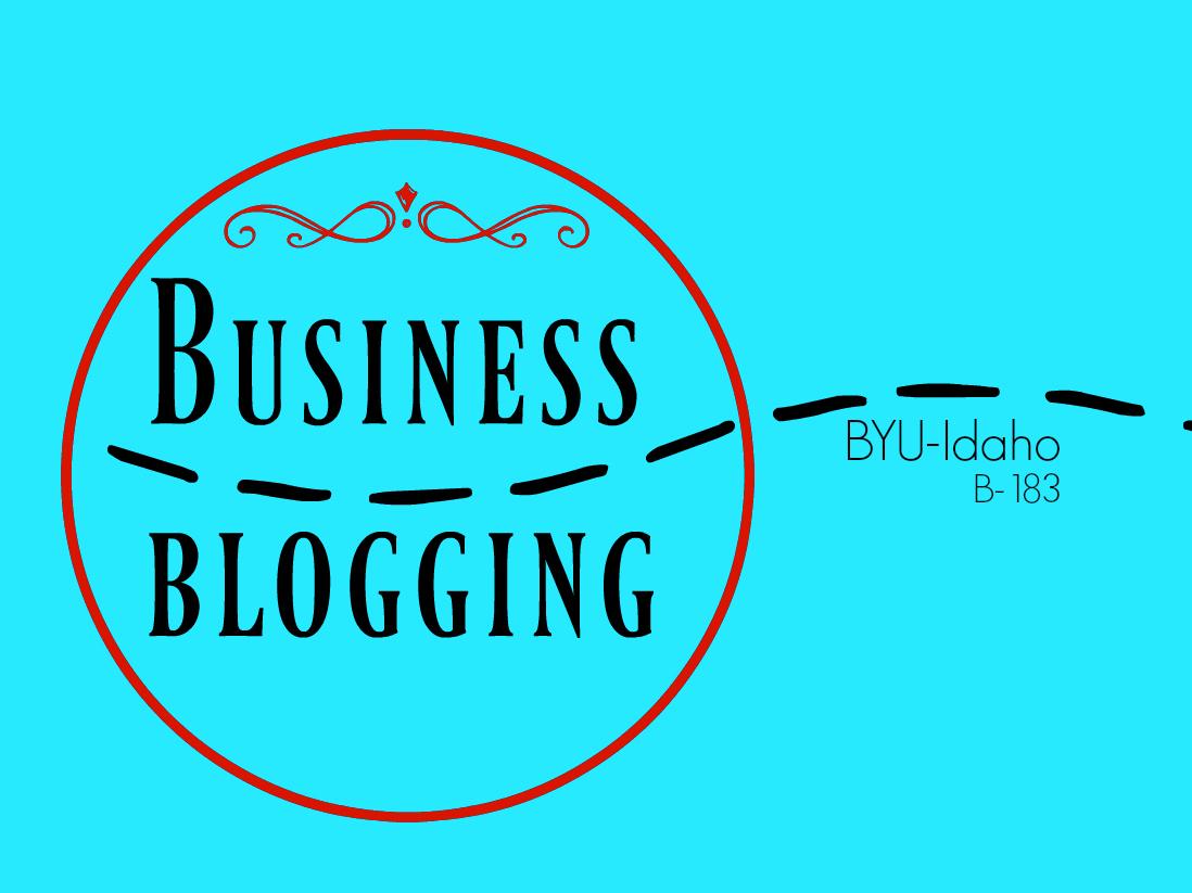 B 183 business blogging