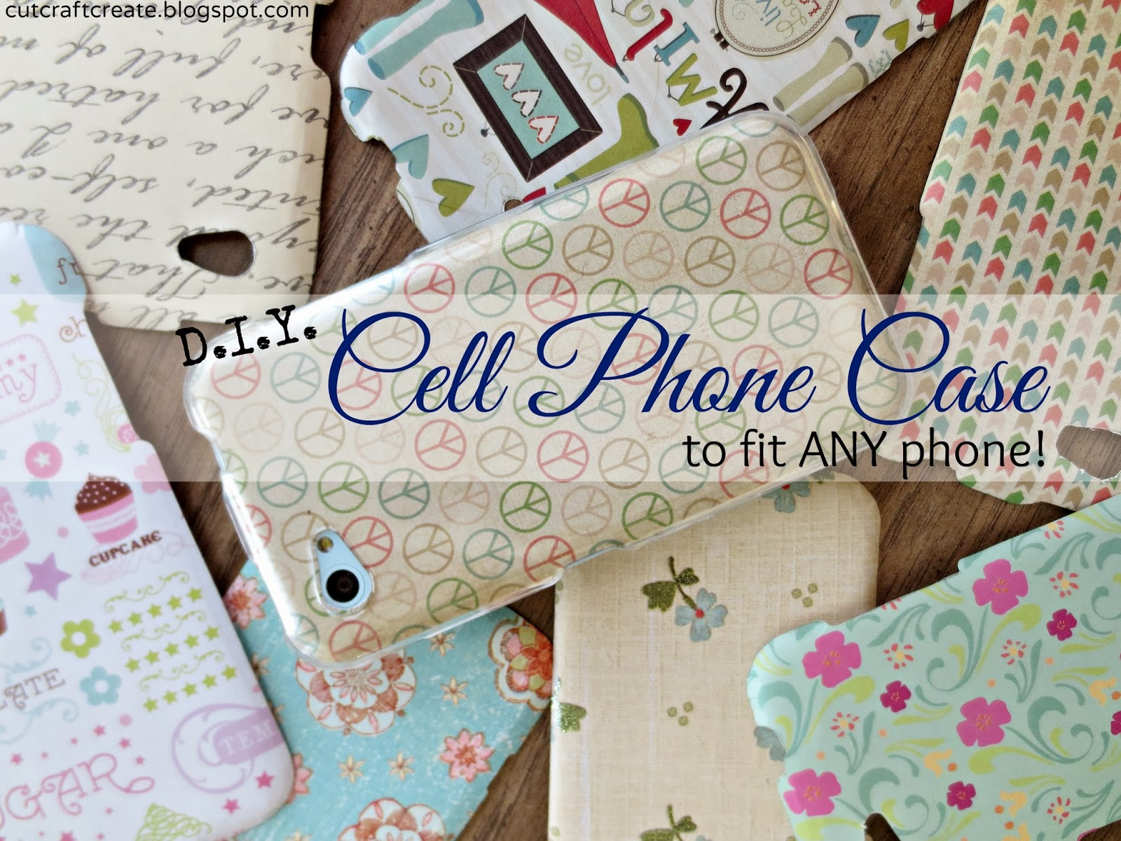DIY Cell Phone Case Tutorial