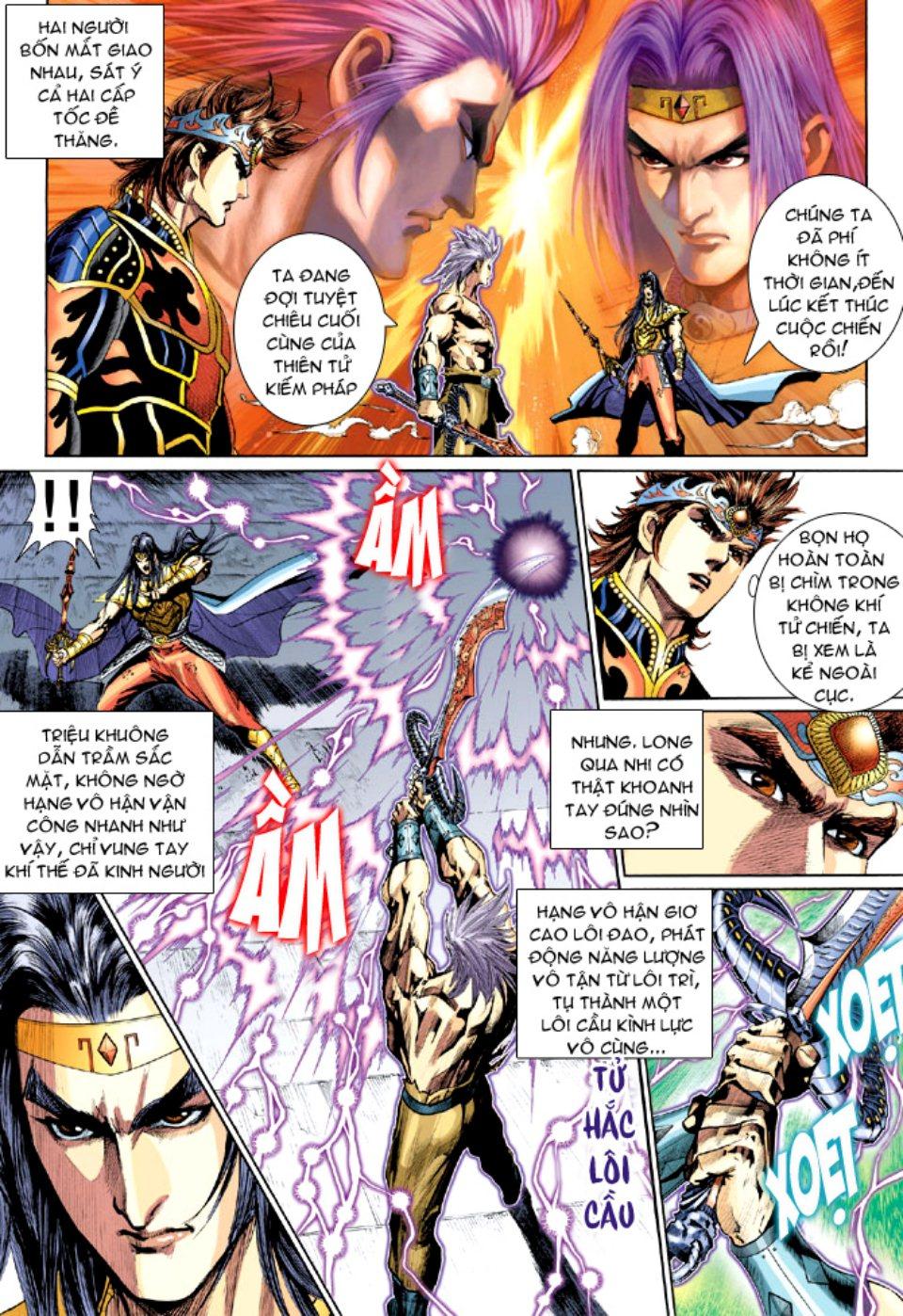 Thiên Tử Truyền Kỳ 5 - Như Lai Thần Chưởng chap 212 - Trang 26