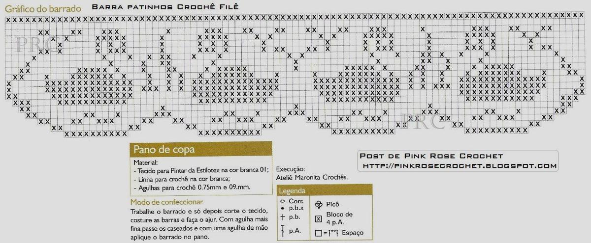 Схемы вязания филейным кружевом
