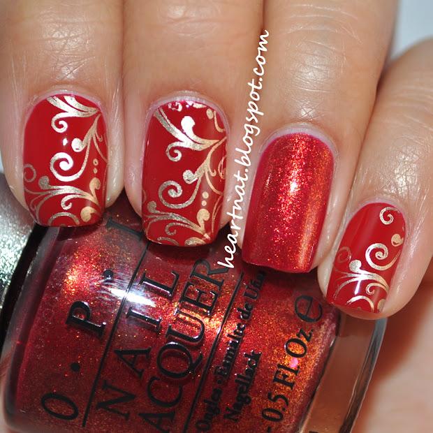 heartnat china glaze winter berry