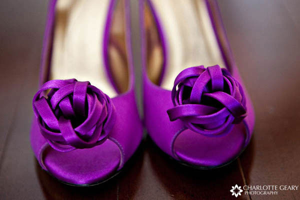 Purple Kate Spade wedding shoes Purple Kate Spade wedding shoes