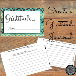 Help your students learn to practice gratitude.
