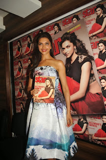Actress Deepika Padukone Latest Pictures at Starweek Magazine Diwali Special Edition Launch 0032.jpg