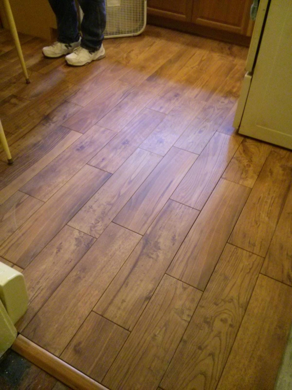 Installing porcelain tile on wood floor