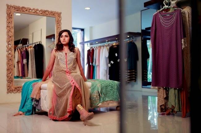Eid Party Wear Dresses by Ayesha Somaya