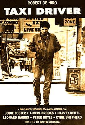 Cartel de la película de 1976 'Taxi Driver', de Martin Scorsese, con Robert De Niro. Revista Making Of Cine