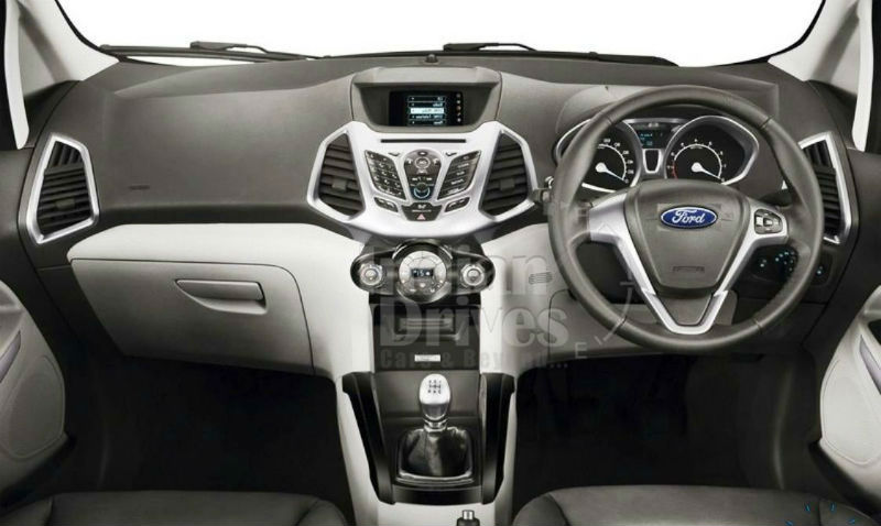 Ford Ecosport Interior White Ford Ecosport H...