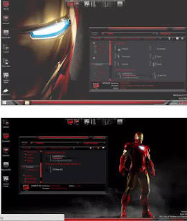 IronMan SkinPack For Windows 7