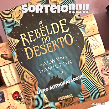 #Sorteio: A Rebelde do Deserto!