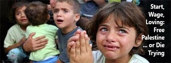 Start, Wage, Loving: Christlikeness... Free Palestine