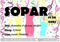17 DE JUNY - SOPAR DE FI DE CURS