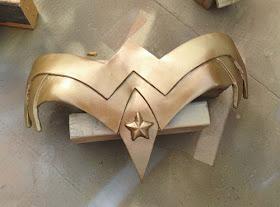 Wonder Woman Cosplay from Craftastical using Wonderflex