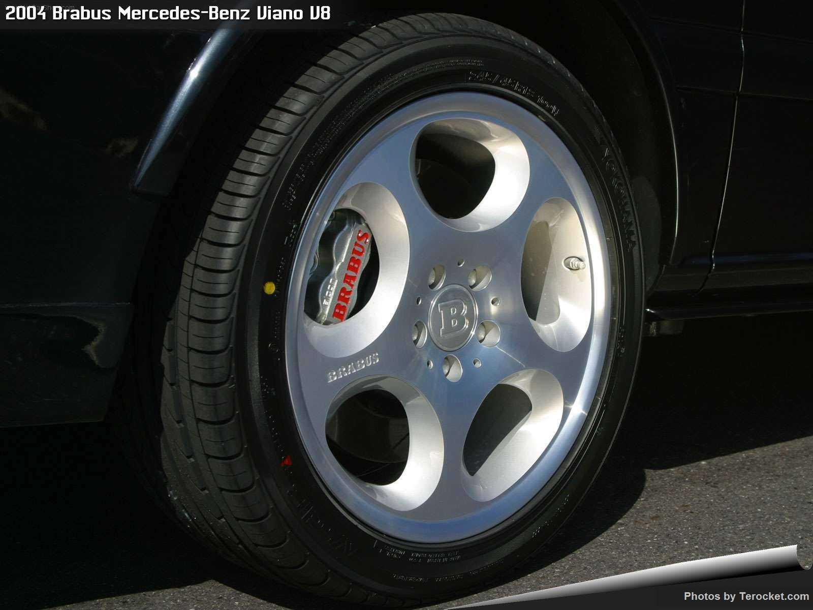 Hình ảnh xe ô tô Brabus Mercedes-Benz Viano V8 2004 & nội ngoại thất