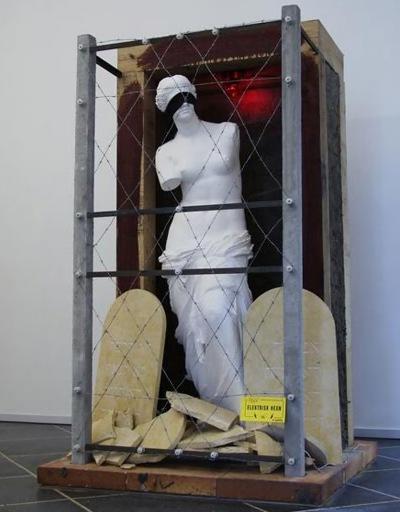 Bjørn Nørgaard, Det forjættede land, skulptur fra serien Venus spejler spejler Venus
