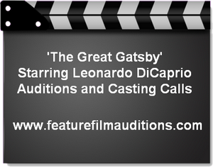 The Great Gatsby Casting Calls Auditions