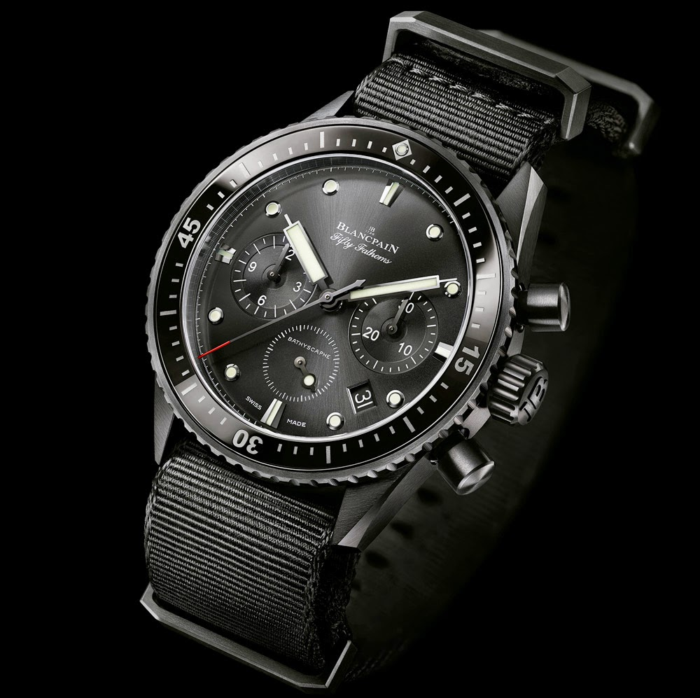 BLANCPAIN FIFTY FATHOMS BATHYSCAPHE FLYBACK CHRONGRAPH
