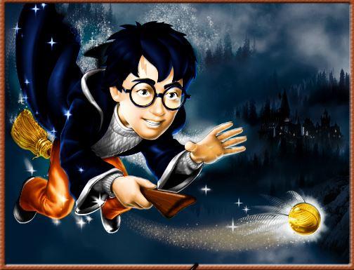 Harry Potter para pintar online