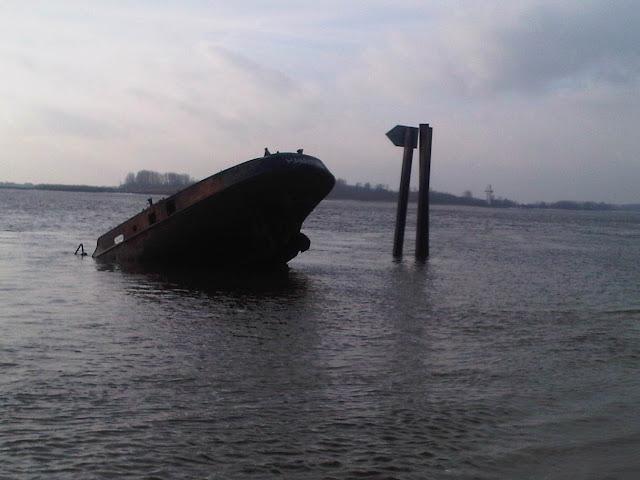 Wrack - Elbstrand Hamburg