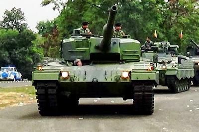 MBT Leopard 2A4 TNI-AD. Prokimal Online Kotabumi Lampung Utara