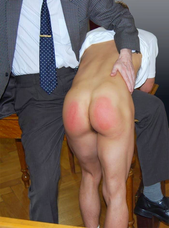 Bien faire spank my ass straight men load