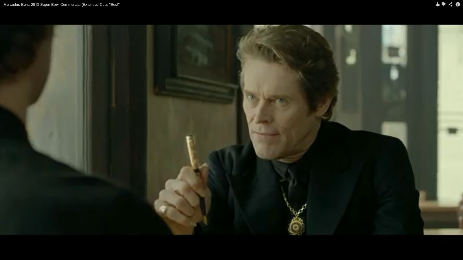 Willem Dafoe Car Commercial
