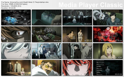 "film / anime death note episode 31 ""Perpindahan"" bahasa indonesia"